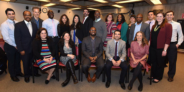 Group photo of Boston's EED Fellowship, class of 2017
