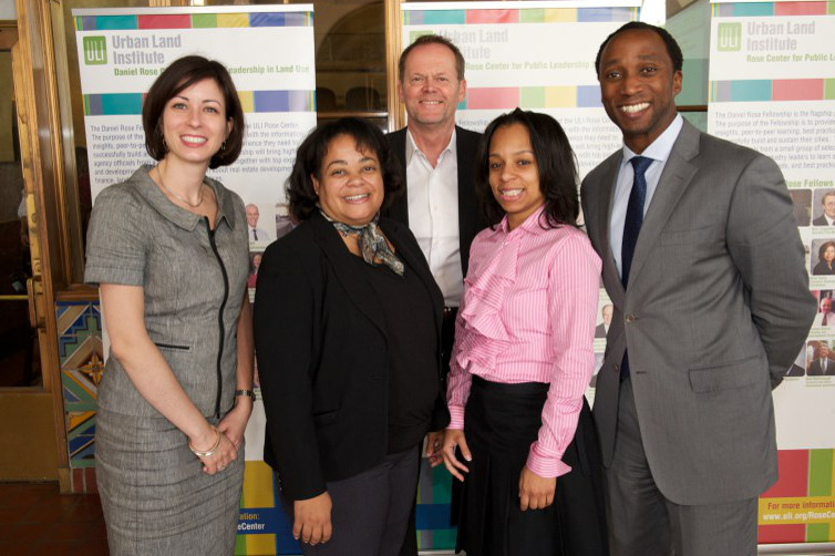 Fiver members of the Detroit Rose Fellowship Team in 2010