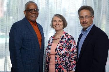 Martha Brown, Ken Little and Matt Haessly of Milwaukee, Wisconsin.