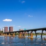 Richmond, VA from the James River